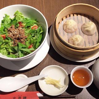 担々冷麺セット(京鼎樓 HANARE店 )