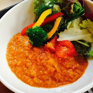 夏野菜のレッドカレー