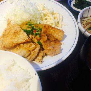 生姜焼定食(ほの字渋谷店)