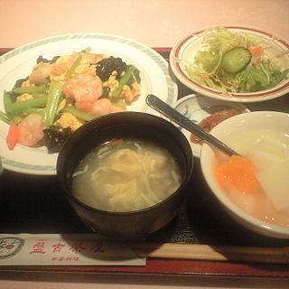 芝えびの玉子炒めランチ(盤古茶屋)