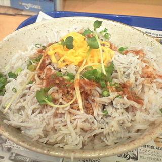 釜揚げしらす丼(日光丸 )