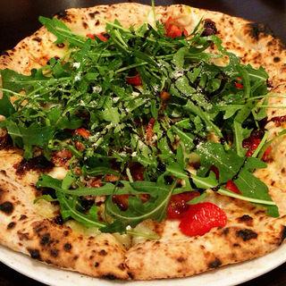 6年熟成バルサミコとルコラのビアンカ(ナポリピッツァ Pizzeria la Rossa (ナポリピッツァ ピッツェリア ラ ロッサ))