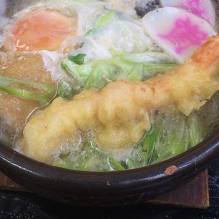 鍋焼きうどん(資さんうどん 西小倉店)