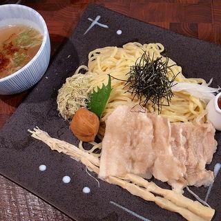 梅の塩つけ麺(麺や 庄の (めんやしょうの))