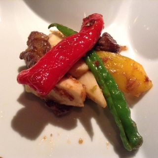 牛フィレ肉のX.O醤ソース炒め(花閒 (かかん))