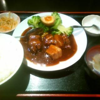 豚肉の角煮定食(祥龍餃子房 )