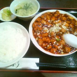 日替り定食A麻婆豆腐(龍驤 (ロンシャン))