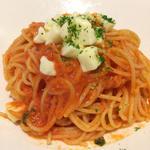 イタリア産完熟トマトてイタリア産モッツァレラチーズのポモドーロ