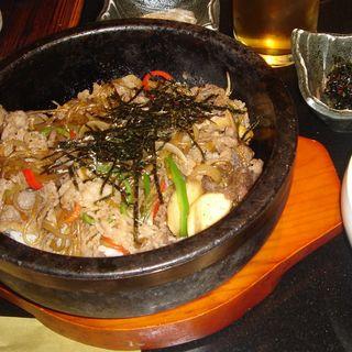 石焼トッパ(韓国料理 土火土火)