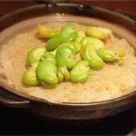 新しょうがと空豆の炊きこみごはん
