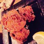 大山鶏の唐揚げ