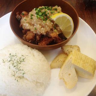 チキン竜田おろしポン酢ランチ(ヒヨリ+キッサ )