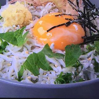 しらす釜揚げ丼(中原水産 )