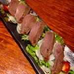 神戸牛の冷製ローストビーフ
