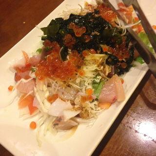 海藻たっぷり海鮮サラダ(ええねん)