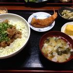国産豚ロース大盛りピリ辛味噌漬け焼きどんぶり(かまどのご飯 喜乃国屋)