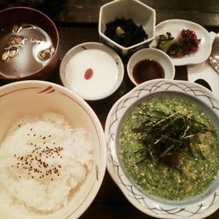 とろろご飯(金魚坂)