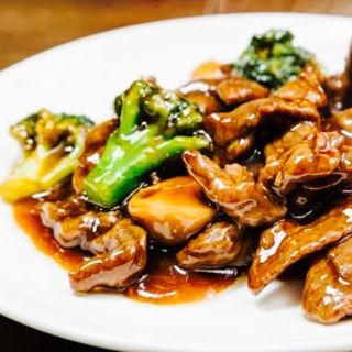 肉野菜醤油あんかけ(香味)
