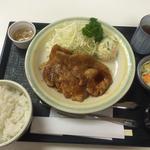 霧降高原豚生姜焼き定食(佐野サービスエリア(上り線) レストラン )