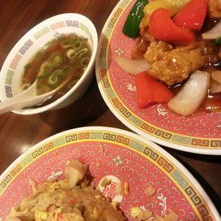 酢豚セット(金龍閣 )