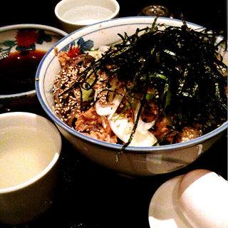 冷たい肉蕎麦(そば処港屋 (MINATOYA、みなとや))