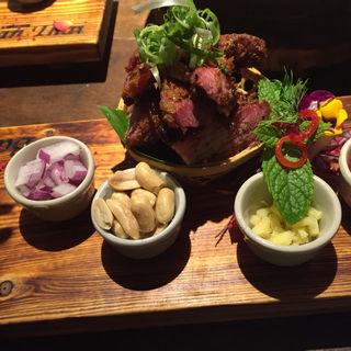 豚肉の唐揚げ(バーンタイ芦屋)