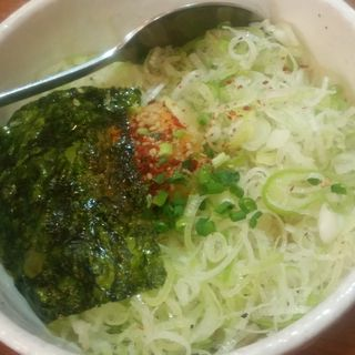 ねぎ玉ごはん(大阪焼肉・ホルモン ふたご 西新宿店 )