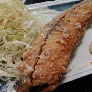 さんまの竜田揚げ(魚目)