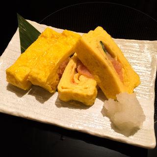 華味卵使用の明太玉子焼(博多華味鳥 西中洲店)