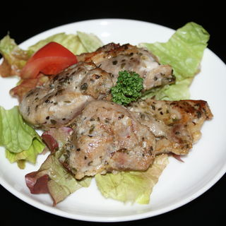 地鶏のオーブン焼き(エル ベベドール新橋店)
