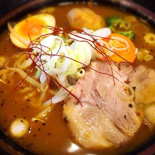 野菜スープカレーラーメン