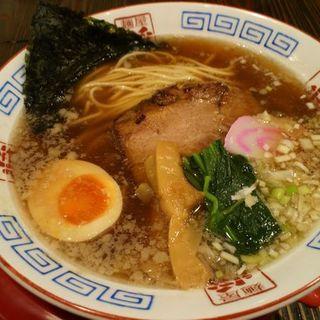 生一本醤油ラーメン(麺屋ひしお )