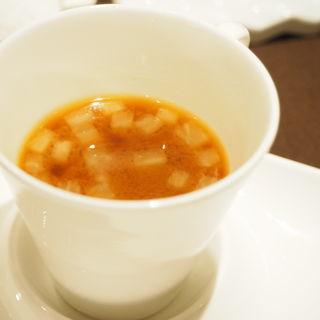 味噌スープ(熟成神戸牛プレミアム 听 神谷町店 (ポンド))