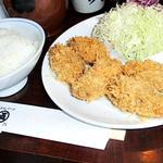 カキフライ定食(丸五 (まるご))