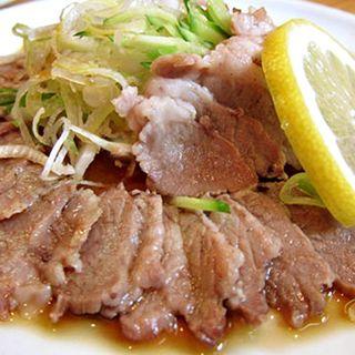 ゆで豚(喜美松)