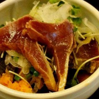カツオのタタキ(魚十 )