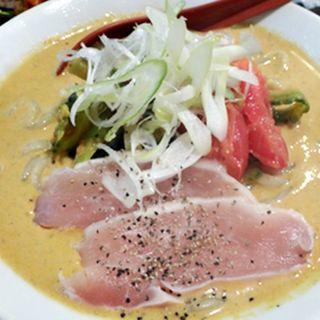 冷やしトマトカレーそば(金町製麺 )