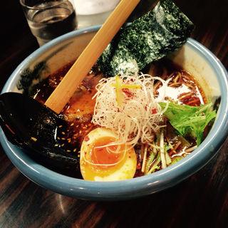 柚子辣湯麺(醤油)(AFURI 恵比寿店)