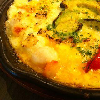 ピリ辛トマトソースのペンネグラタン(カフェ アグレ (Cafe Aggre ))
