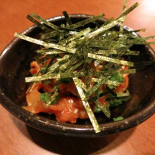 ホタテのヒモのチャンジャ風(和醸良酒 (ワジョウリョウシュ))