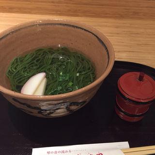 抹茶そば(茶寮都路里 大丸東京店 (さりょうつじり))