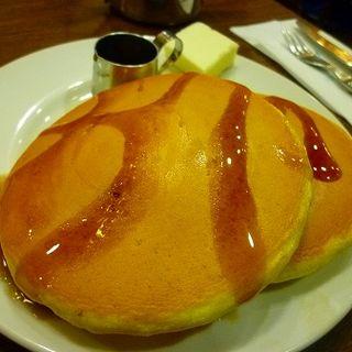 ホットケーキセット バター(元町サントス (もとまちさんとす))