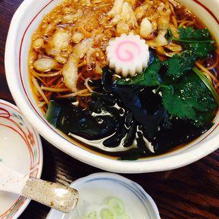 たぬき(蕎麦切り 稲おか )