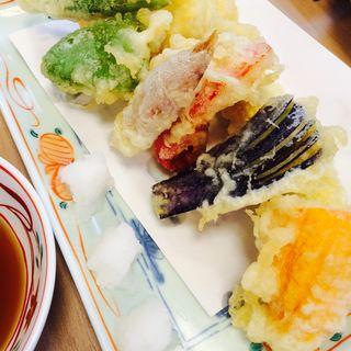 季節の野菜天ぷら(蕎麦切り 稲おか )