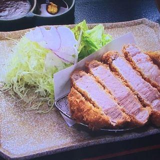 アグー豚ロースとんかつ定食(羅生門 はんにゃ )