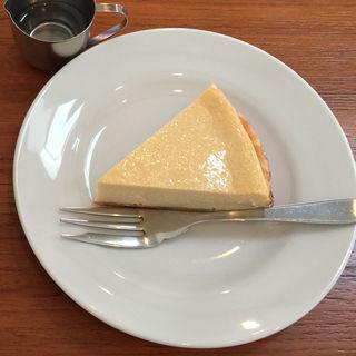 チーズケーキ(カフェルーエ (Cafe Ruhe))