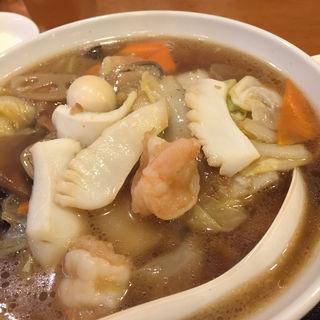 五目湯麺(蘭美亭 )
