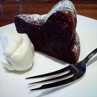ガトーショコラ(カフェ デ コラソン (cafe de corazon))