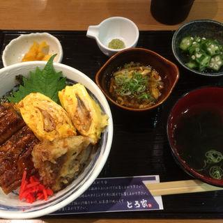 スペシャルうなぎ丼(堂島とろ家 阪急三番街店 (とろや))