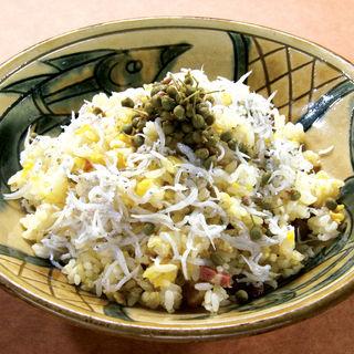 シラスと山椒の香り炒め飯